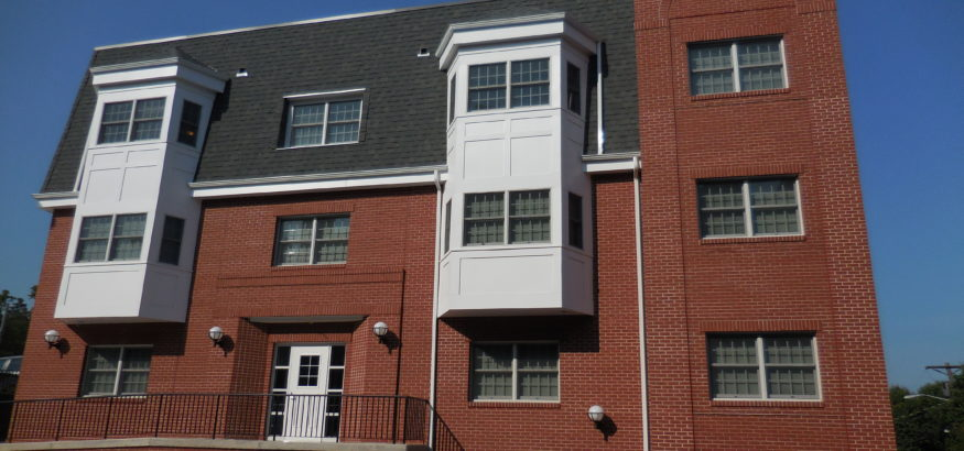 Elm Street Supportive Housing Unit Apartment Building